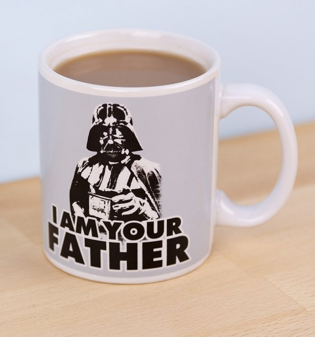 Boxed Star Wars I Am Your Father Darth Vader Mug
