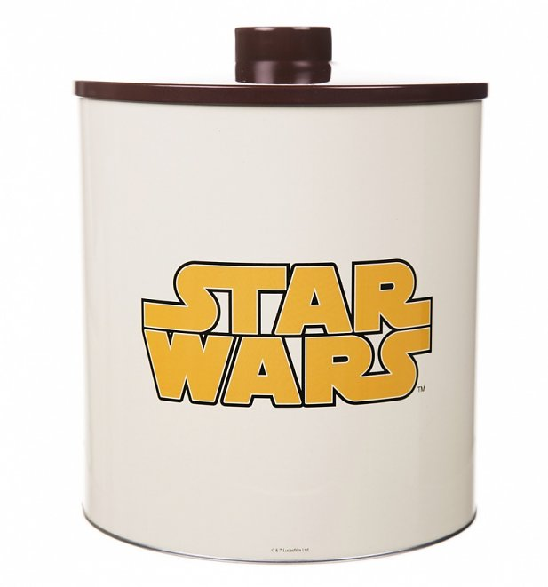 Star Wars Wookiee Cookies Tin Biscuit Barrel