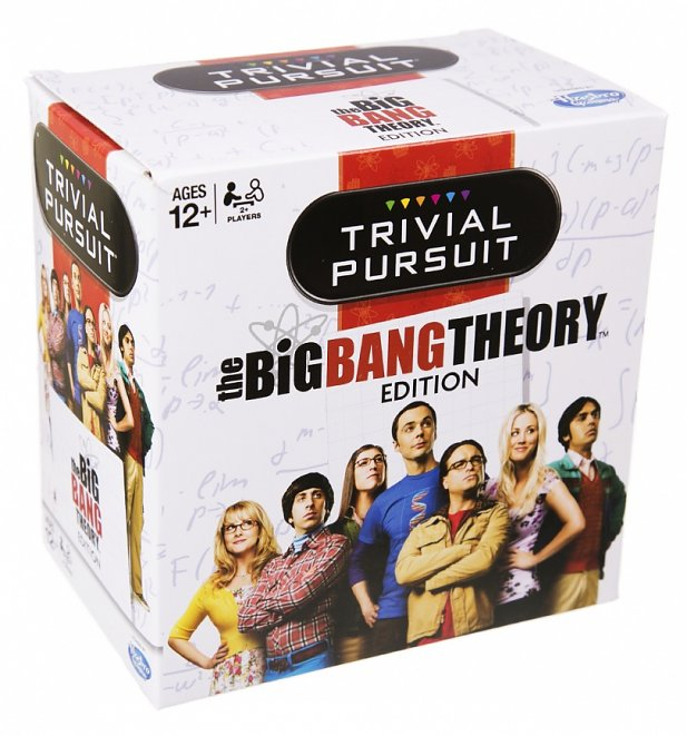 The Big Bang Theory Trivial Pursuit Game Set