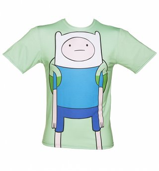 Unisex Green Adventure Time T-Shirt from Mr Gugu & Miss Go