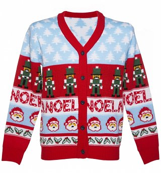 Unisex Retro Noel Christmas Cardigan from Cheesy Christmas Jumpers