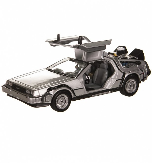 Welly Back To The Future 2 DeLorean 1:24 Scale Diecast Model